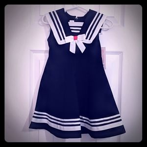 Darling Sailor Dress NWT